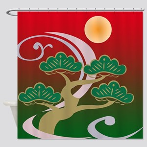 Surreal Bonsai Tree Abstract #2 Shower Curtain