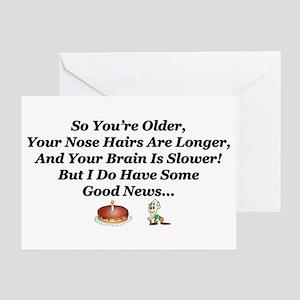 """Viagra Works: Knock On Wood"" Birthday Card"