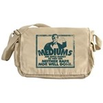 Mediums Are Aptly Named Messenger Bag