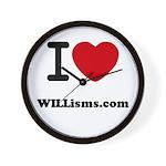 WILLisms.com Wall Clock