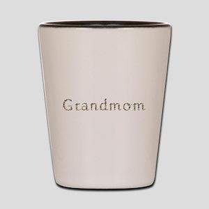 Grandmom Seashells Shot Glass
