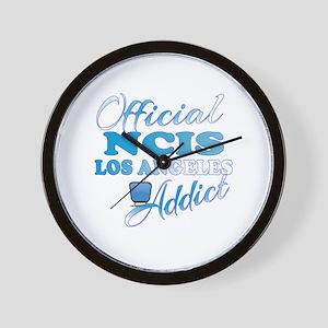 Official NCIS LA Addict  Wall Clock