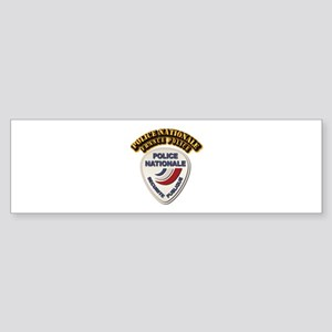 Police Nationale France Police wi Sticker (Bumper)