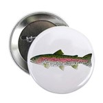 """Rainbow Trout - Stream 2.25"""" Button (100 pack)"""