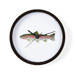 Rainbow Trout - Stream Wall Clock