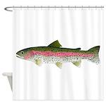 Rainbow Trout - Stream Shower Curtain