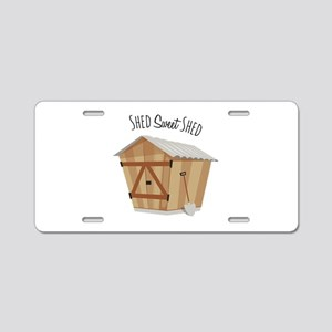 Sweet Shed Aluminum License Plate