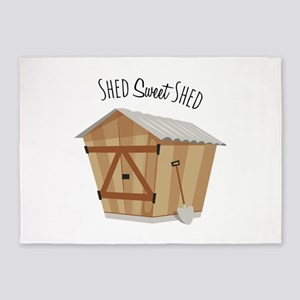 Sweet Shed 5'x7'Area Rug