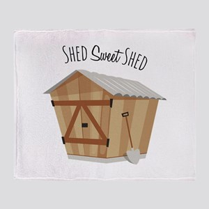 Sweet Shed Throw Blanket