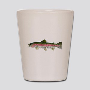 Rainbow Trout - Stream Shot Glass