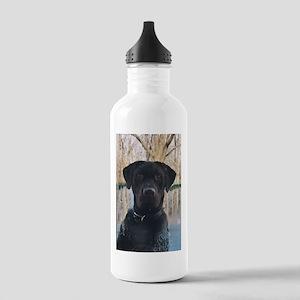 Chocolate Labrador Retriever Water Bottle