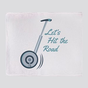 Hit The Road Throw Blanket