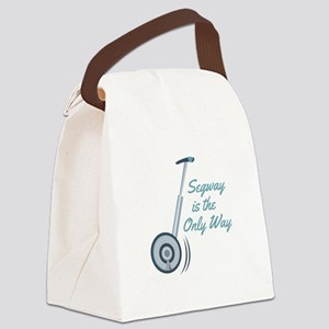 Segway Canvas Lunch Bag