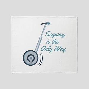 Segway Throw Blanket