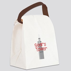 Sears Tower Canvas Lunch Bag
