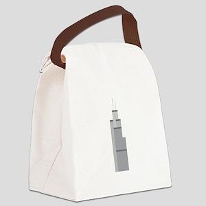 Skyscraper Canvas Lunch Bag