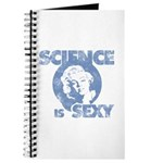 Science Is Sexy - Light Blue Journal