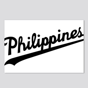 Philippines Script Postcards (Package of 8)