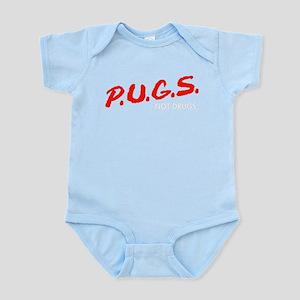 PUGS Not Drugs Body Suit