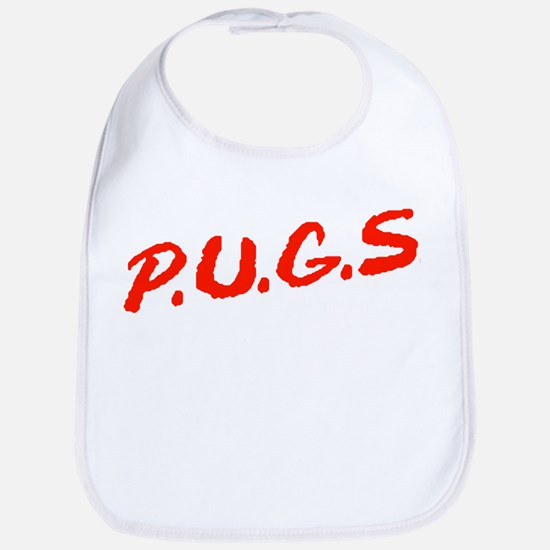 PUGS Not Drugs Bib
