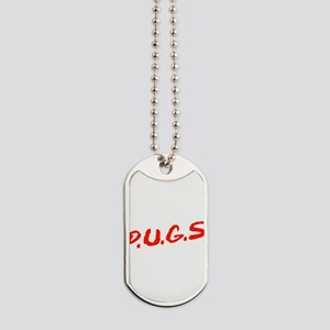 PUGS Not Drugs Dog Tags