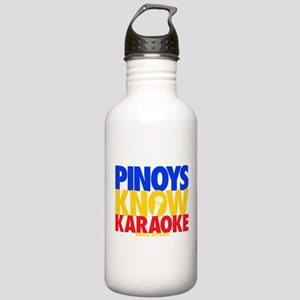 PINOYS KNOW KARAOKE Stainless Water Bottle 1.0L