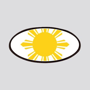 Philippines Flag Sun Patch