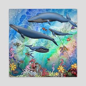Whale Queen Duvet