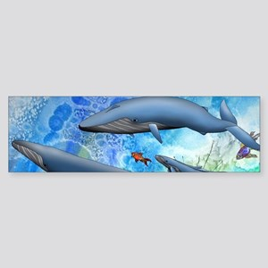 Whale Sticker (Bumper)