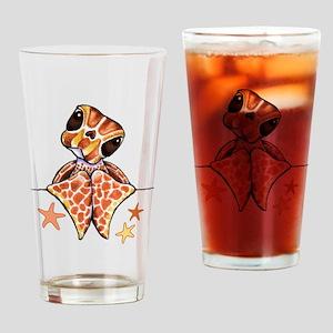 Baby Brown Starfish Drinking Glass