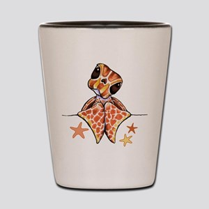 Baby Brown Starfish Shot Glass