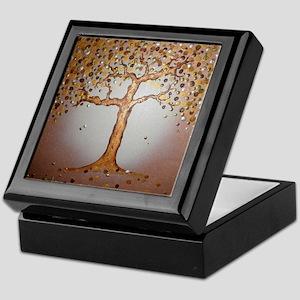 Copper Tree Keepsake Box