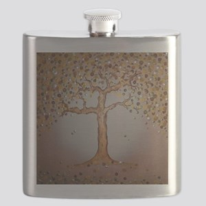 Copper Tree Flask