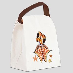 Sea Turtle BB Starfish Canvas Lunch Bag