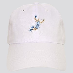 Basketball Player in BLUE Uniform Cap