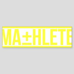 mathlete Bumper Sticker