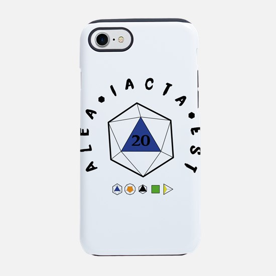 "Alea iacta est ""The die i iPhone 7 Tough Case"