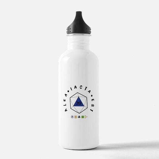 """Alea iacta est """"T Water Bottle"""