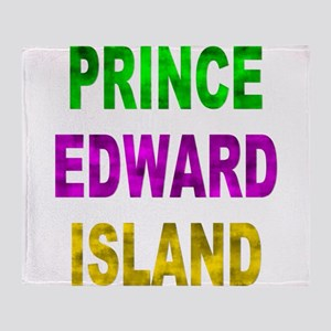 Prince Edward Island Throw Blanket
