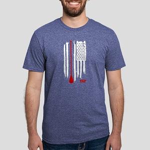 Stand Up Paddling US Flag T-Shirt