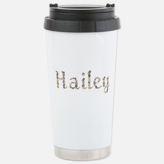 Hailey Seashells Ceramic Travel Mug