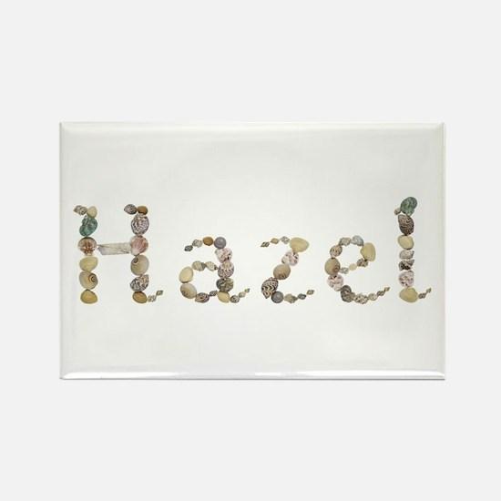 Hazel Seashells Rectangle Magnet