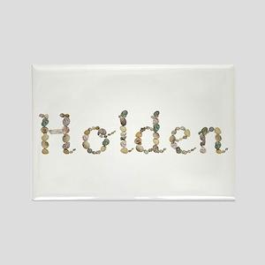 Holden Seashells Rectangle Magnet