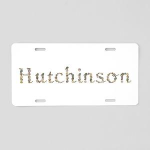 Hutchinson Seashells Aluminum License Plate