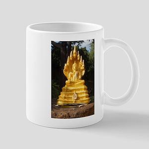 Golden buddha Mugs