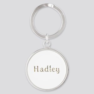 Hadley Seashells Round Keychain