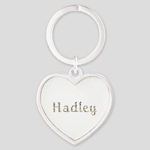 Hadley Seashells Heart Keychain