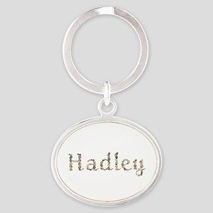 Hadley Seashells Oval Keychain