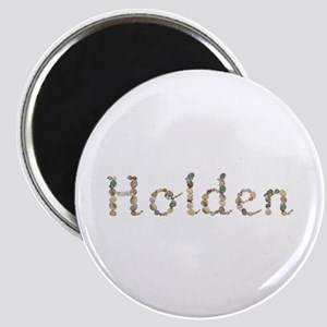 Holden Seashells Round Magnet