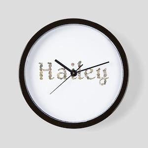 Hailey Seashells Wall Clock